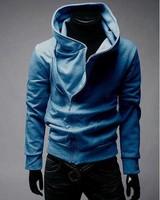 2013NEWFree shipping High Collar Men's Jacket Top Brand ,Men's Dust Coat Hoodies Clothes M ~XXXL#5198