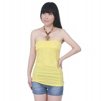 Free shipping ! / 2013 New summer fashion Handmade beading Women's Cute sling halter Top/Casual Halter Neck shirt/Small size