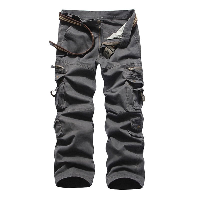 Pants With Lots of Pockets Multi-pocket Casual Pants