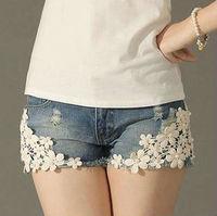 2013 Hot Sale Sexy Ladies Shorts Denim short Jeans Low Waist short Pants hole Style Free Shipping women shorts