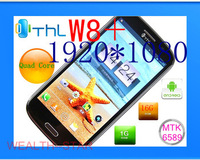 Free shipping original THL W8+ MTK6589 RAM1G ROM 16G quad core Android 4.2 5.0 'Screen 13MP 1920*1080 perfect(xd)
