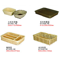 free shipping bread bakest rectangular tableware basket BAKEST