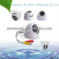 Factory selling !! CCTV 800TVL Sony CCD HD Dome security camera 3.6mm wide lens Surveillance camera (Black or White)