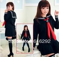 2013 new fashion Sailor suit preppystyle set school wear costume school uniform student uniform with socks free shipping