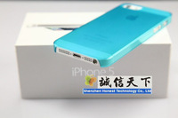 slim matte shell 0.5mm thin crust 50 piece for iphone5 Accessory Free shipping