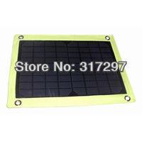Free Shipping 10W Monocrystalline Solar Panel Solar Battery Charger 12V