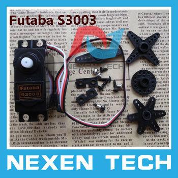 Free shipping Futaba Brand New RC Futaba 3003 Servo Fit hpi RC10 TC3 Plane NIB Futaba S3003 Servo Futaba 3003