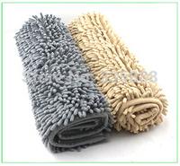 Free Shipping 2 Colors Rug Mini Mats For Doormat Carpet Bat Mat 40CMX60CM Microfiber Chenille Non-slip Mat In The Bathroom Room