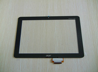 FREE SHIPPING For Iconia Tab A200 Tablet PC  Digitizer Touch Screen Glass Panel Lens Replacement Repair Parts With Control Board