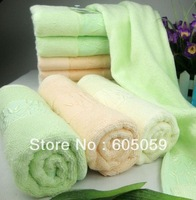 J6J UT095 thick quality bamboo leaf towels luxury 34*74cm 112g/pcs bamboo fiber towels face towels bathroom retail Uhugs towels