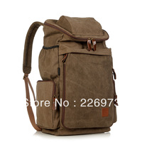 Free shipping Male backpack canvas bag travel bag luggage super large capacity male