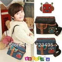 Korea kocotree genuine, new canvas shoulder bag children bag bag hand bag baby robo