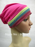 JSU017 Free shipping assorted colors colorful muslim underscarf