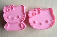 Free shipping 2PCS shape mold sugar Arts set Fondant Cake tools/cookie cutters