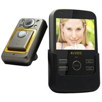 Free Shipping KIVOS KDB01 Video Door Phone 3.5 inch Night Version Door Viewer with TF Card Slot 120 Degree