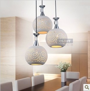 Fashion Modern Pendant Light  Lamps Pendant Lamp Ceramic Pendant Light Bar Combination Lighting