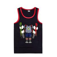 2013 New Trukfit hip hop vest,cotton men's Pink Dolphin vest,hip hop men tanks,Pink Dolphin sleeveles garment,Free shipping