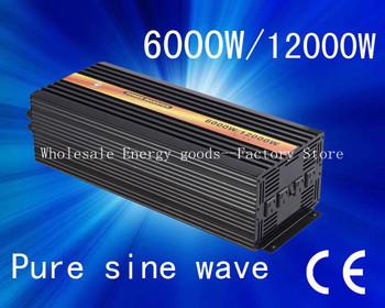 Free shipping!dc ac 6000w power inverter(CTP-6000W)