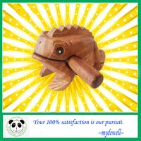 2014 Wooden musical frog,Thailand wooden lucky frog,Wooden croak frog,Hot sale in the market. popular