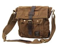 Hot sale promotion New NWT Men Women Canvas Cow Leather Shoulder Bag Messenger Bag School Bag