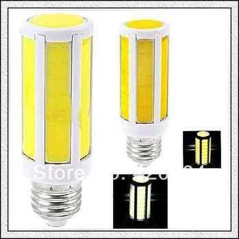 High Power COB  8W 15WLED Bulb SMD 5050 Light Spotlight E27 E14 B22 110V-240V Cool|Warm White Convex Cover Free Shipping