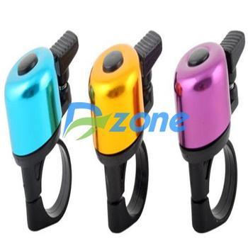 2014 Fashion Hot Design Colorful Bike Mountain Bicycle Handlebar Mini Ring Bell Horn Sound Metal#2945