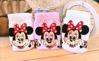 Free shipping high quality 6pcs/lot girls cartoon underwears Minnie Children Briefs cute cotton baby panties lovely gift