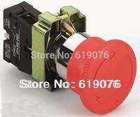 2PCS XB2-BS542 Twist Release Emergency Stop Industrial Machine Switch Push Button Mushroom Schneider electric Telemecanique