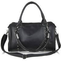 New Vintage Celebrity Rivet Chain Bag Big black bucket bag Handbags Messenger Bag Handbag Shoulder Bags Tote BG1351