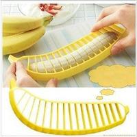 New Arrival Wholesale 20pcs/lot Banana Slicer Household Goods Novelty Banana Cutter for Kitchen