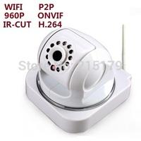 960P Wireless  camera WIFI IP CAMERA   network camera  1.3mp  pixel progressive  sensor H.264 SD card Maximum support 128GB P2P