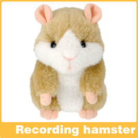 Available!Russia a talking Hamster plush toyhead moving hamster Talking Animal repeat words,Original Packing forgift 1pcs yellow