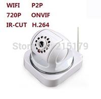 720P Wireless  camera WIFI IP CAMERA   network camera  1.0mp  pixel progressive  sensor H.264 SD card Maximum support 128GB P2P