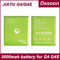 100% Original G4 4c G4s Powerful 3000mAh battery for Jiayu G4 original battery Free shipping/ Koccis