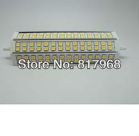 Free Shipping 189mm R7S Led Lamp 18W 84pcs Led Bulb 85-265V Energy Saving Dimmable or Non-dimmable