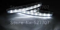High quality waterproof 100% white 8led/LED Daytime Running Lights/High bright LED DRL /LED Car Fog lights/Modified car lights
