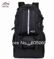 Free shipping 2013 fashion 50 L of outdoor mountaineering backpack travel bag for men and women camping & hiking backpack bags