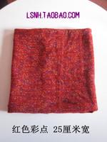 New fashion hand made red wide cotton turban headbands headband hair ornament hair accessory women headwear bandana scarf
