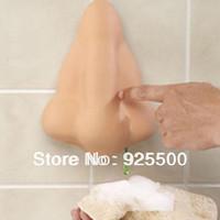 Fun Nose Bathroom Shower Soap Dispenser w Suction Hooks Wacky chan nose lotion bottle of soap Dispenser Chest breast wave bath