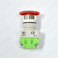 Mushroom Emergency Stop Push Button Switch