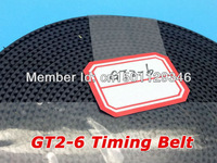 Wholesale GT2 open timing belt width 6mm GT2 belt for 3D printer 100meters/volume