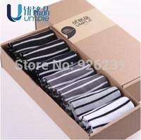 Free shipping 7 pairs/Lot Bamboo fibre socks male summer thin sock commercial anti-odor sock slippers male socks
