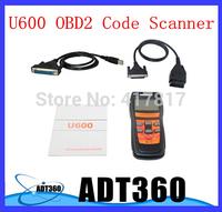 Hot Selling OBDii/EOBDii Memo U600 Scanner VW For Audi/Skoda/Seat CAN BUS Auto diagnostic Code Reader Scan Tools