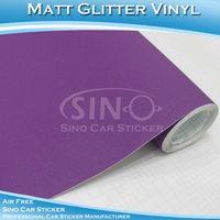 1.52x5m Free Shipping Glitter Matte Diamond Car/Bus Body Wrapping Vinyl Sticker Paper