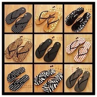 Flip flops female sandals flat sandals the trend of slippers beach women's shoes 180g