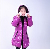 2013 winter new Free shipping children down coat clothes ,baby boys girls/ kids down jacke,leather coats