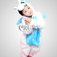 Unisex Children's Kigurumi Onesies Cosplay Costumes Animal Pajamas Christmas Gift For Kid Cartoon Cute Unicorn Pyjamas Sleepwear