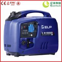 TRUSTWORTHY! 1kW Ultra-quiet Digital Inverter Portable Gasoline Generator LH1000i (BLUE), CE & TUV