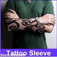 Breathable Tattoo Sleeve Body Art Tattoo Sleeve Cycling Tattoo Sleeve - Assorted Pattern