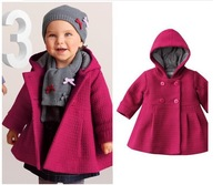 Retail New Brand Baby Girl's Warmer Jacket/Girl's Outerwear/Children's Windbreaker/Hoodies & Sweatshirts/Girl's Trench